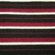 yard dyed stripes