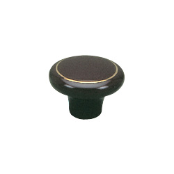 zinc alloy insert ceramic knobs